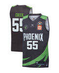s-e-melbourne-phoenix-19-20-youth-authentic-home-jersey-mitch-creek - Front and Back Image