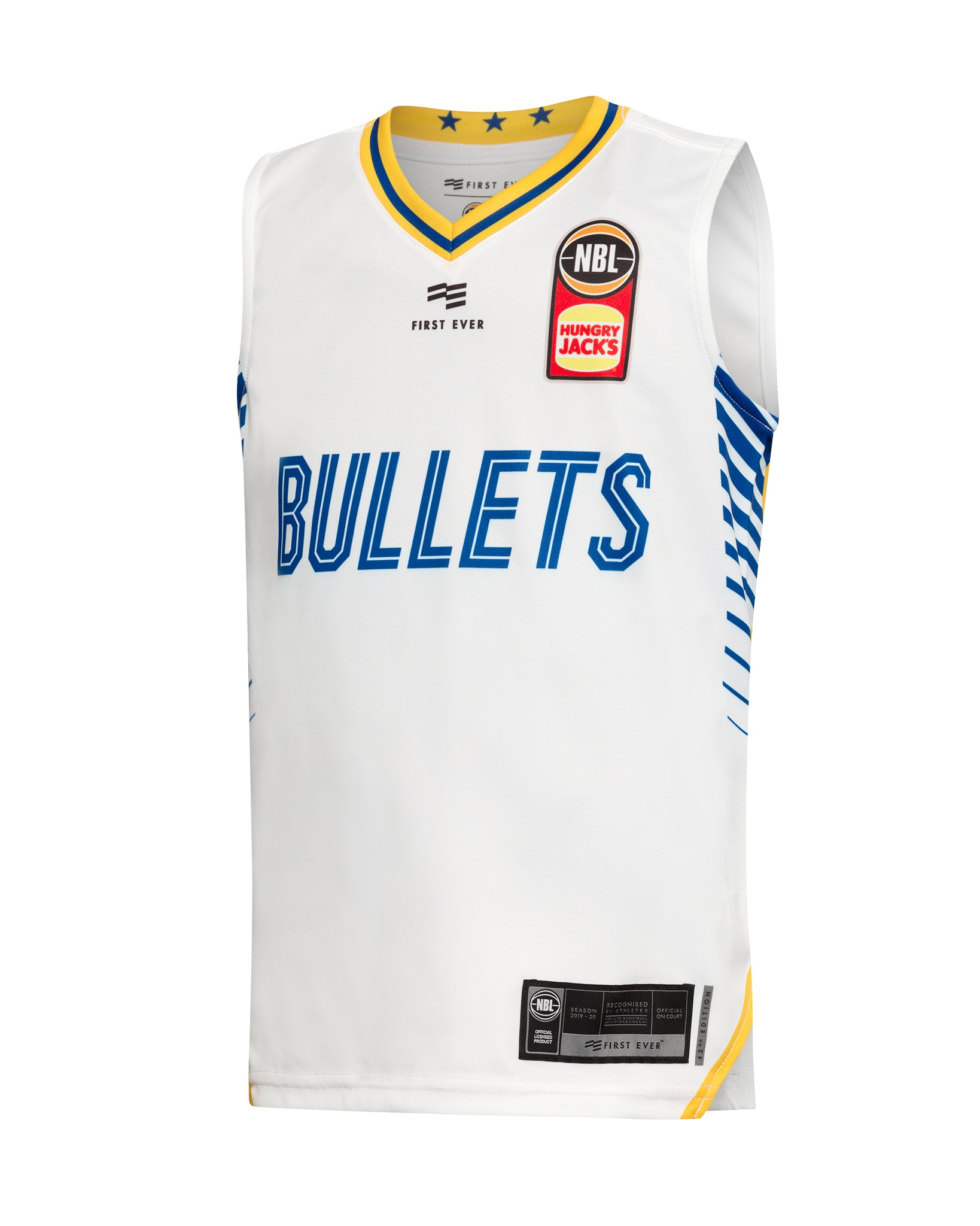 Brisbane Bullets 19/20 Youth Authentic Away Jersey