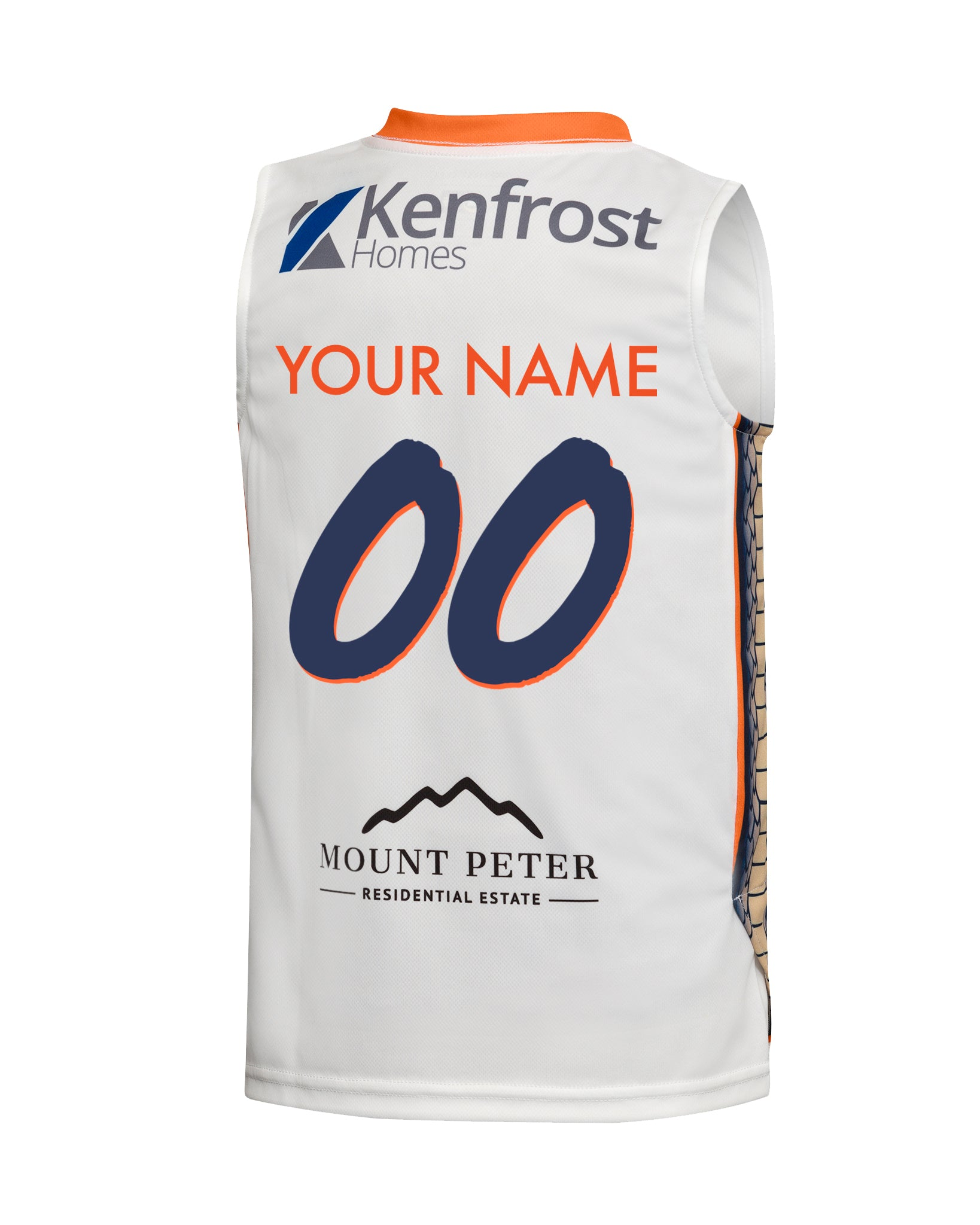 Personalised Cairns Taipans 19/20 Youth Authentic Away Jersey