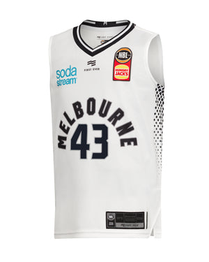 Melbourne United 19/20 Youth Authentic Away Jersey - Chris Goulding