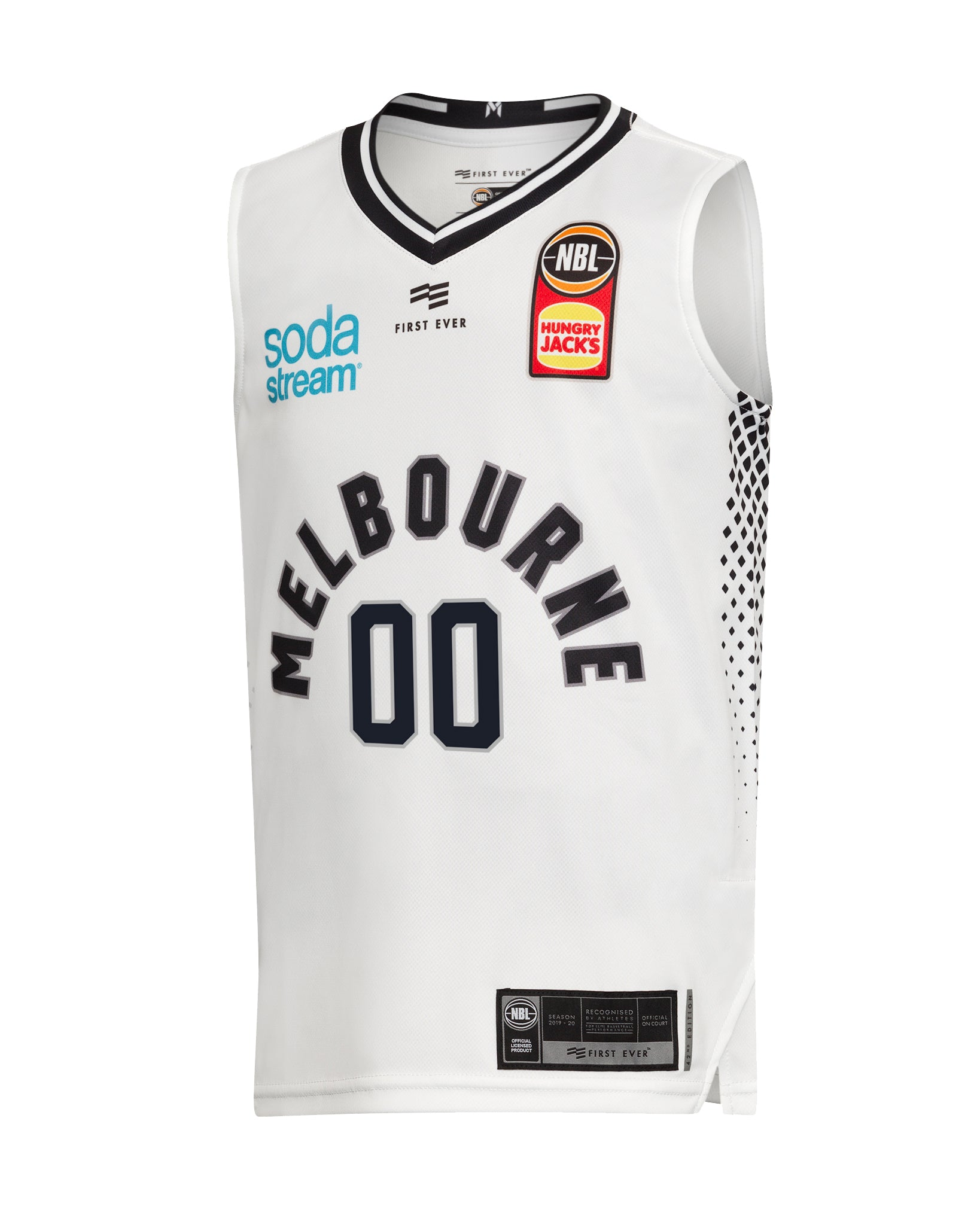 Personalised Melbourne United 19/20 Youth Authentic Away Jersey