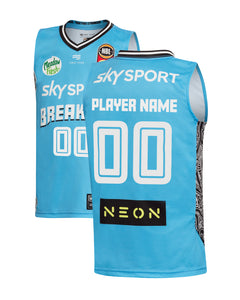 New Zealand Breakers 19/20 Youth Authentic Away Jersey - Other Players