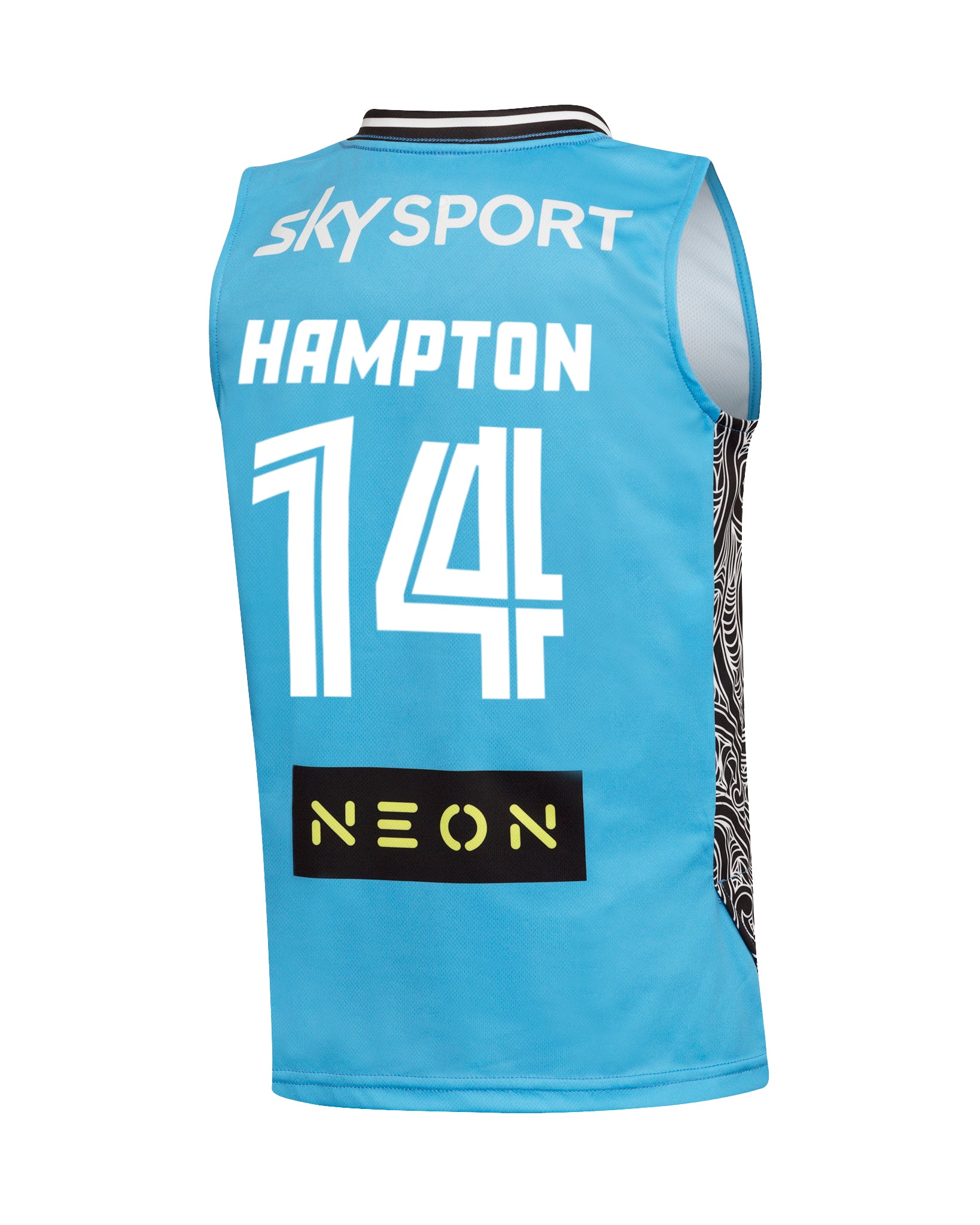 New Zealand Breakers 19/20 Youth Authentic Away Jersey - RJ Hampton