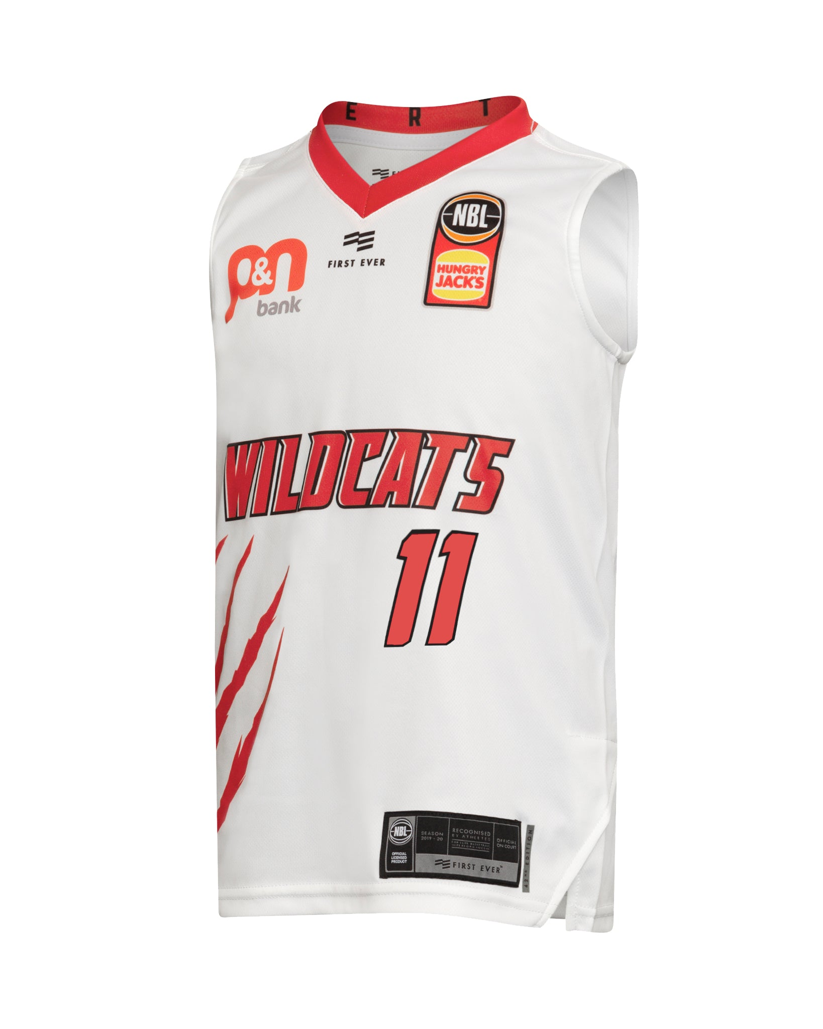 Perth Wildcats 19/20 Youth Authentic Away Jersey - Bryce Cotton