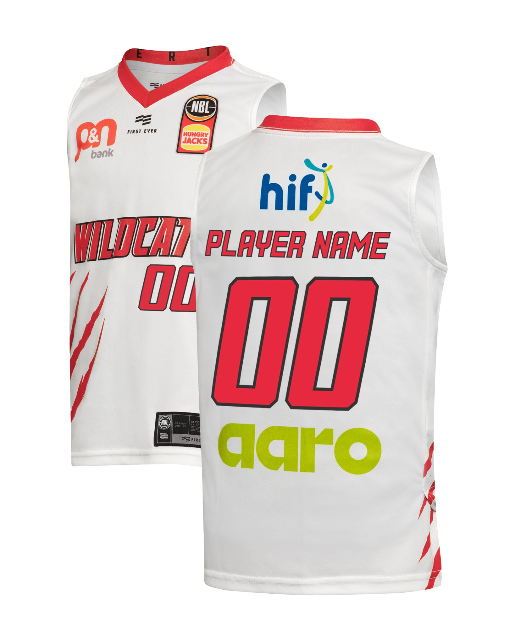 Perth Wildcats 19/20 Youth Authentic Away Jersey - Other Players