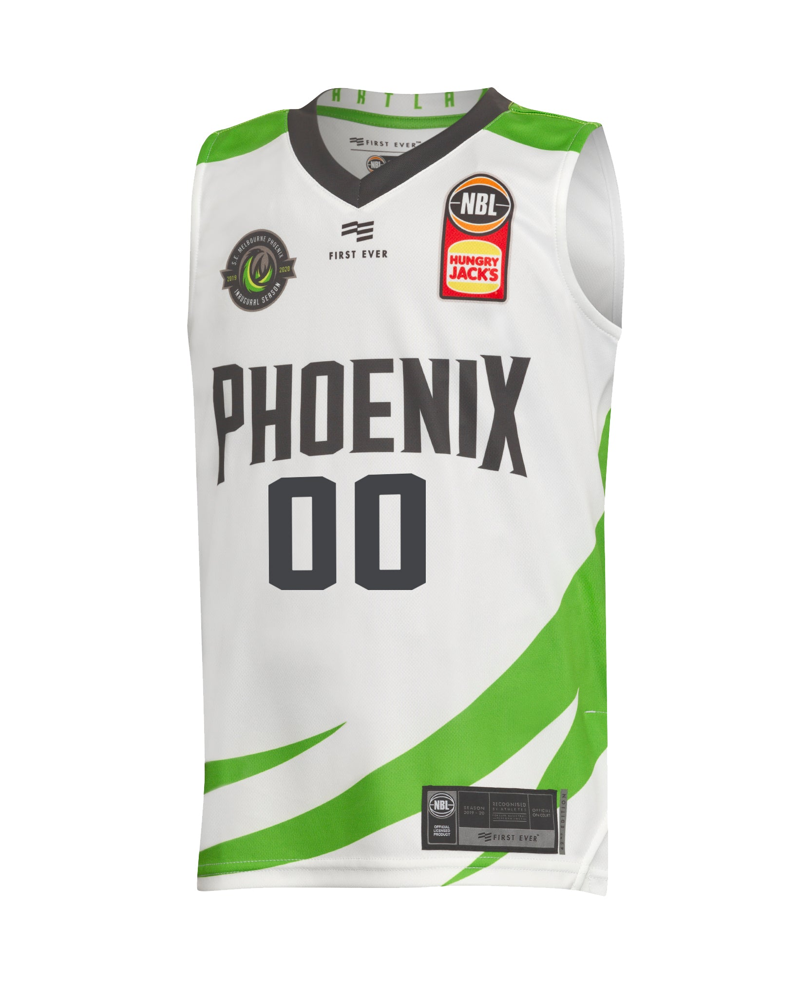 Personalised S.E. Melbourne Phoenix 19/20 Youth Authentic Away Jersey