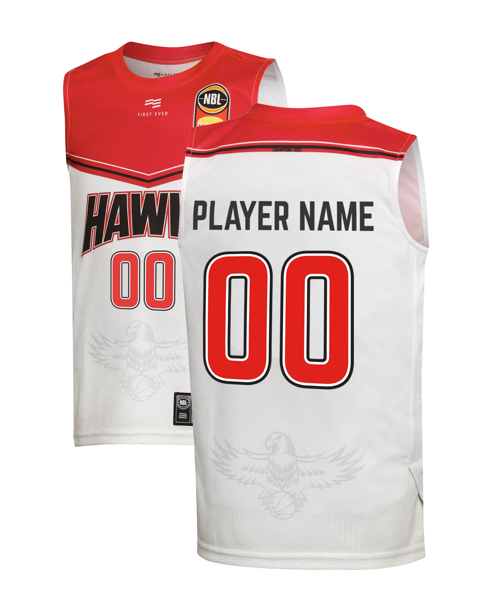 Illawarra Hawks 19/20 Youth Authentic Away Jersey - Other Players
