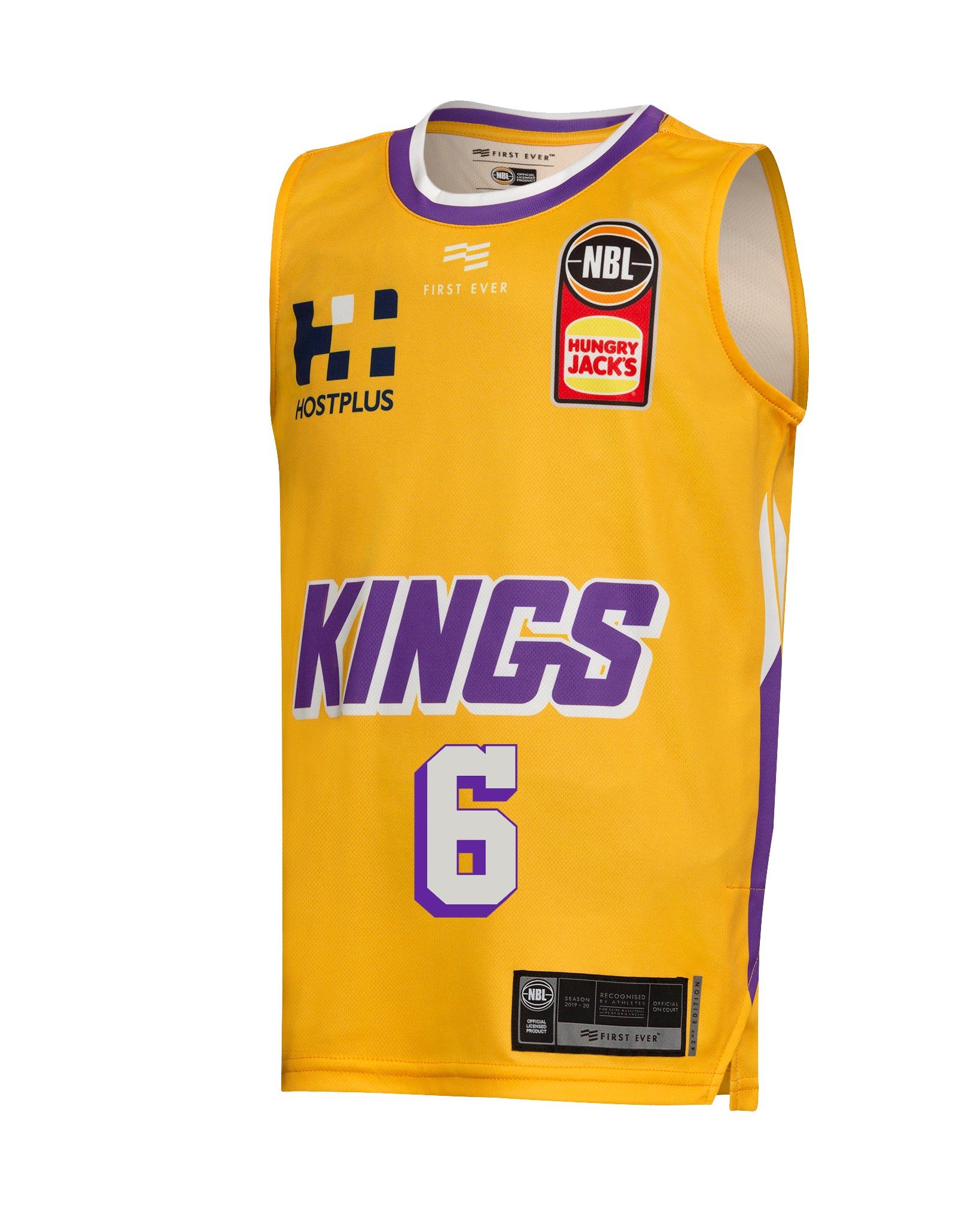 Sydney Kings 19/20 Youth Authentic Away Jersey - Andrew Bogut
