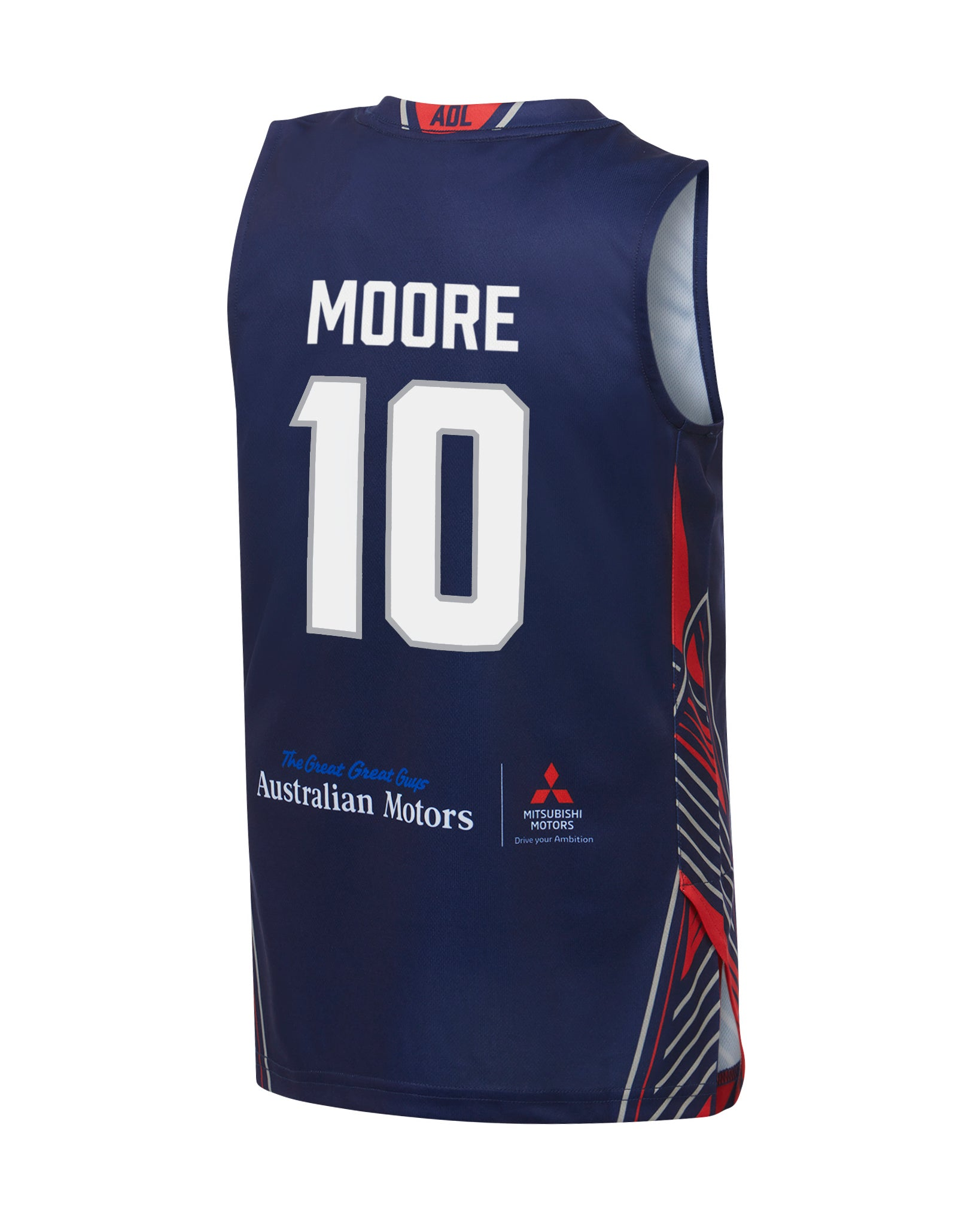 adelaide-36ers-19-20-youth-authentic-home-jersey-ramone-moore - Back Image