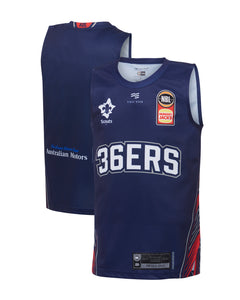 Adelaide 36ers 19/20 Youth Authentic Home Jersey