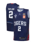 adelaide-36ers-19-20-youth-authentic-home-jersey-deshon-taylor - Front and Back Image