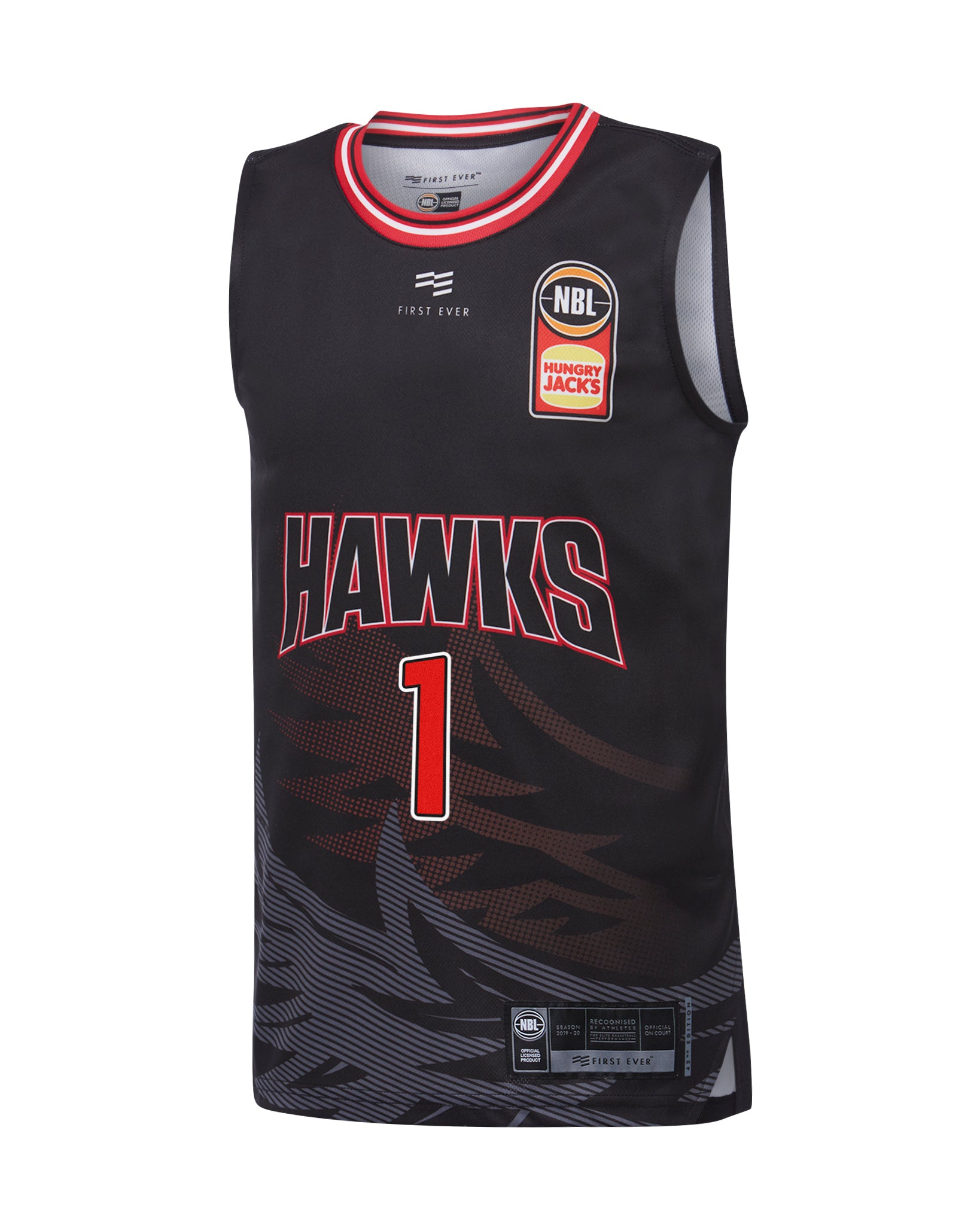 illawarra-hawks-19-20-youth-authentic-home-jersey-lamelo-ball - Front Image