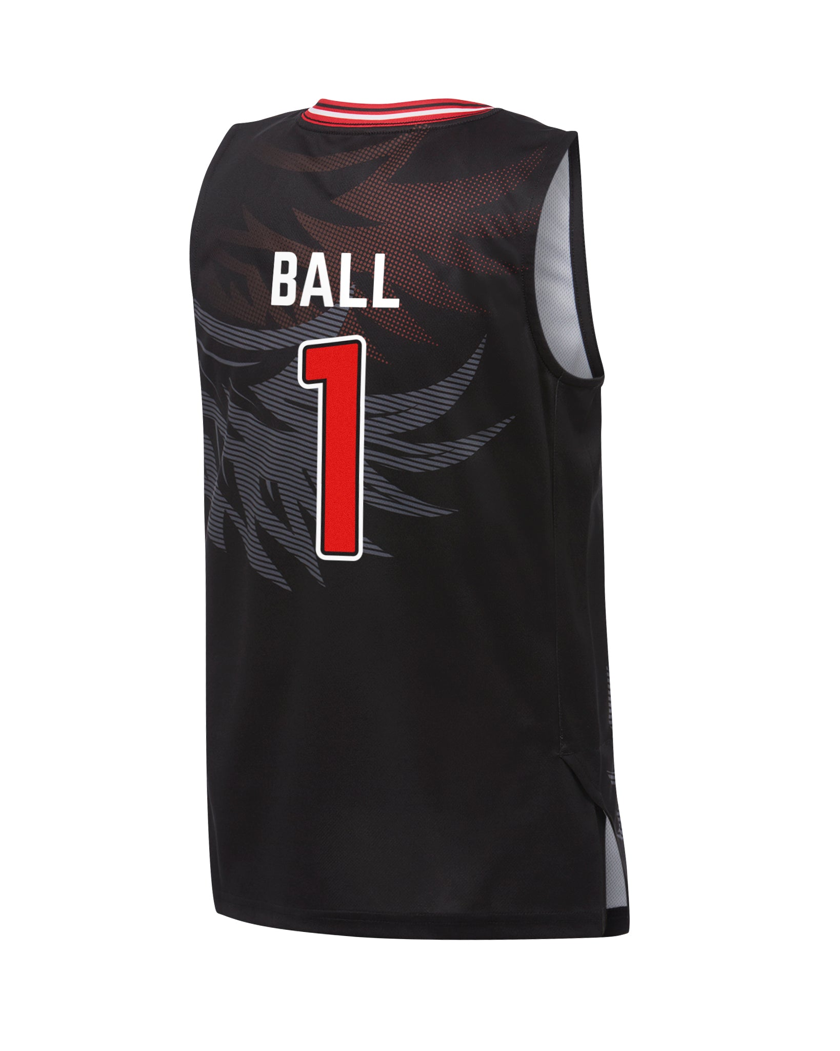 illawarra-hawks-19-20-youth-authentic-home-jersey-lamelo-ball - Back Image