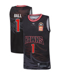 illawarra-hawks-19-20-youth-authentic-home-jersey-lamelo-ball - Front and Back Image