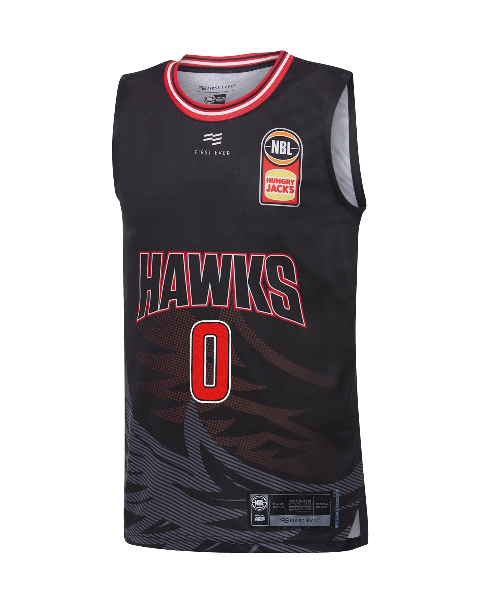illawarra-hawks-19-20-youth-authentic-home-jersey-aaron-brooks - Front Image