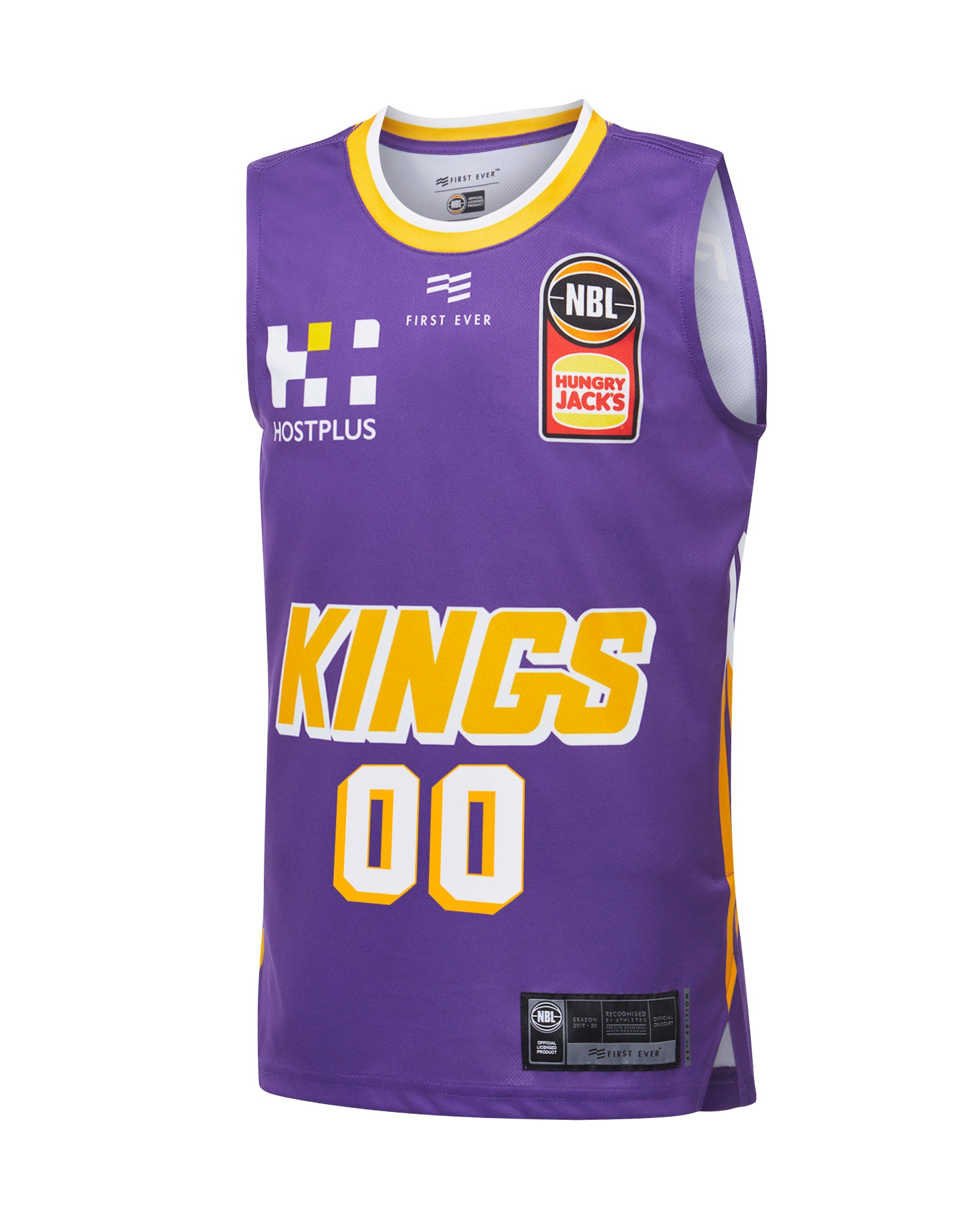 Personalised Sydney Kings 19/20 Youth Authentic Home Jersey