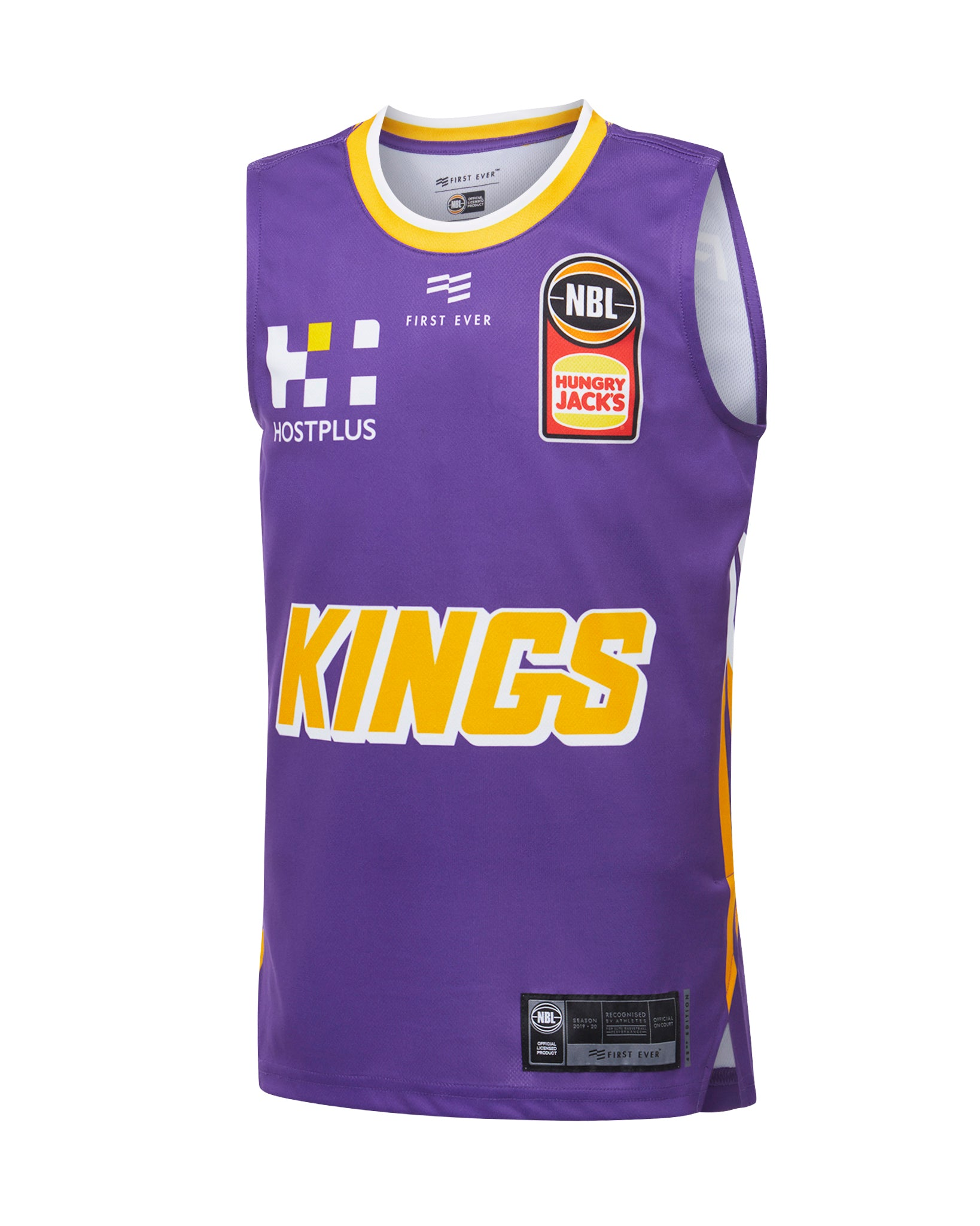 Sydney Kings 19/20 Youth Authentic Home Jersey