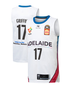Adelaide 36ers 19/20 Youth Authentic City Jersey - Eric Griffin
