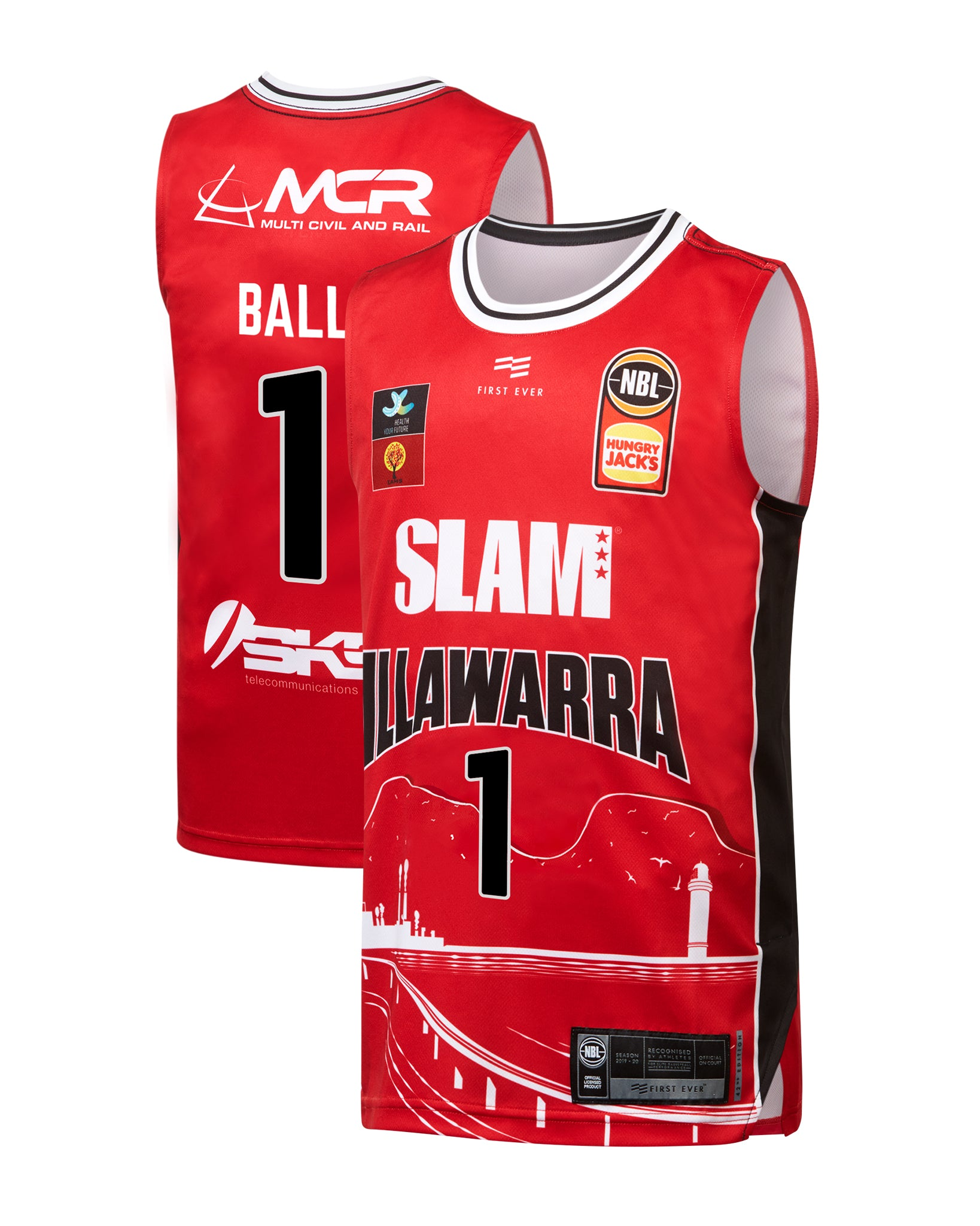 Illawarra Hawks 19/20 Youth Authentic City Jersey - LaMelo Ball