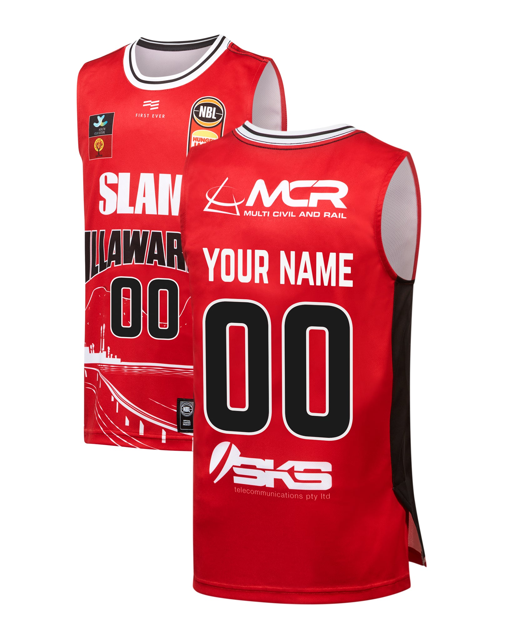 Personalised Illawarra Hawks 19/20 Youth Authentic City Jersey