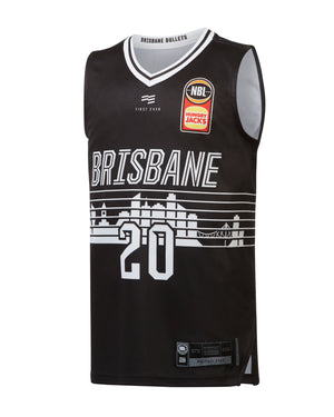 Brisbane Bullets 19/20 Youth Authentic City Jersey - Nathan Sobey