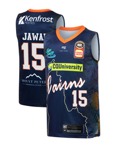 Cairns Taipans 19/20 Youth Authentic City Jersey - Nate Jawai