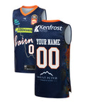 Personalised Cairns Taipans 19/20 Youth Authentic City Jersey