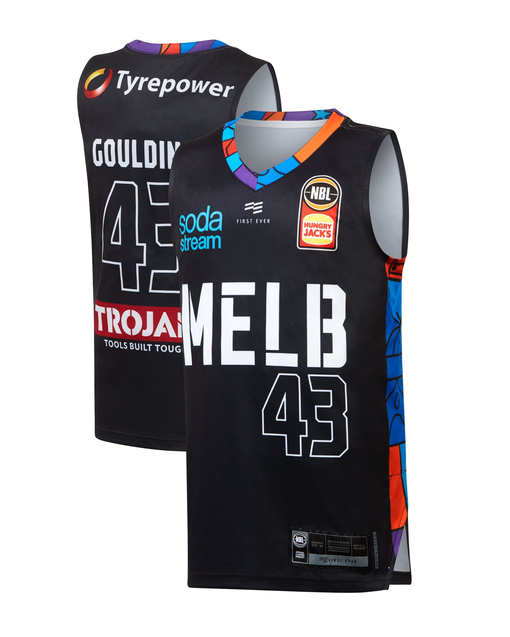 Melbourne United 19/20 Youth Authentic City Jersey - Chris Goulding