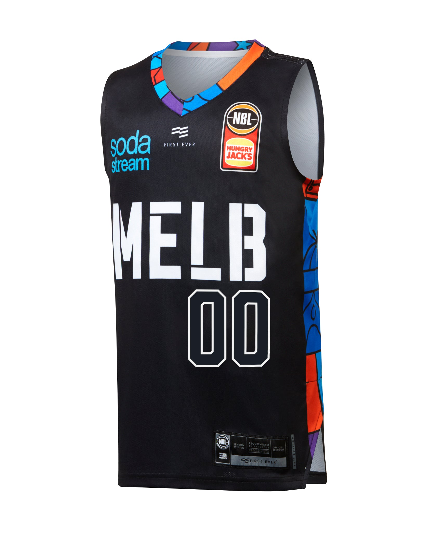 Personalised Melbourne United 19/20 Youth Authentic City Jersey