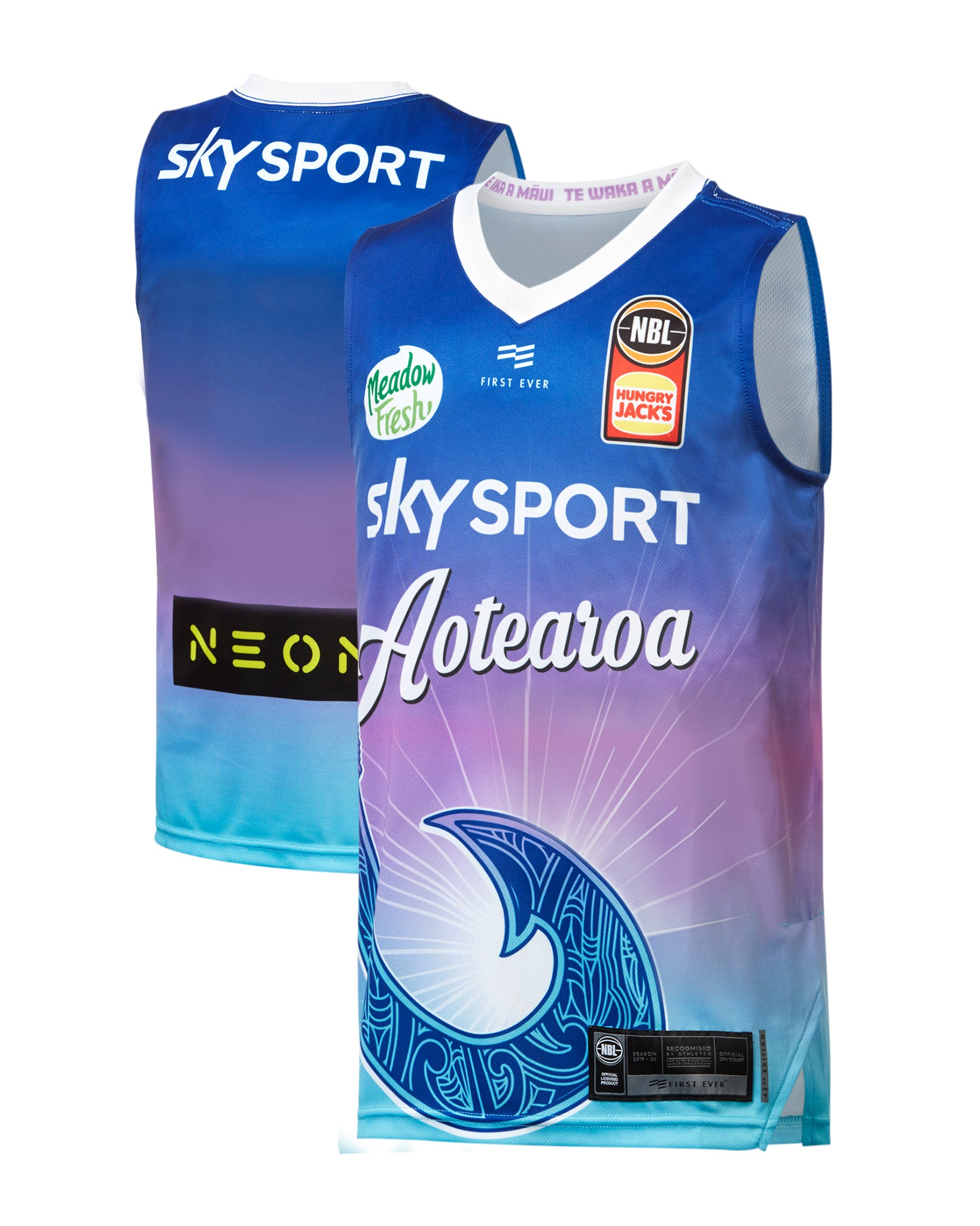 New Zealand Breakers 19/20 Youth Authentic City Jersey