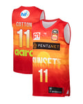 Perth Wildcats 19/20 Youth Authentic City Jersey - Bryce Cotton