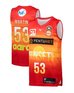 Perth Wildcats 19/20 Youth Authentic City Jersey - Damian Martin