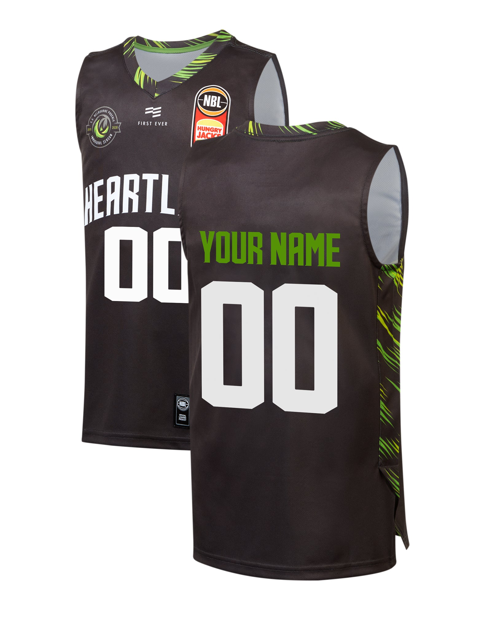 Personalised S.E. Melbourne Phoenix 19/20 Youth Authentic City Jersey