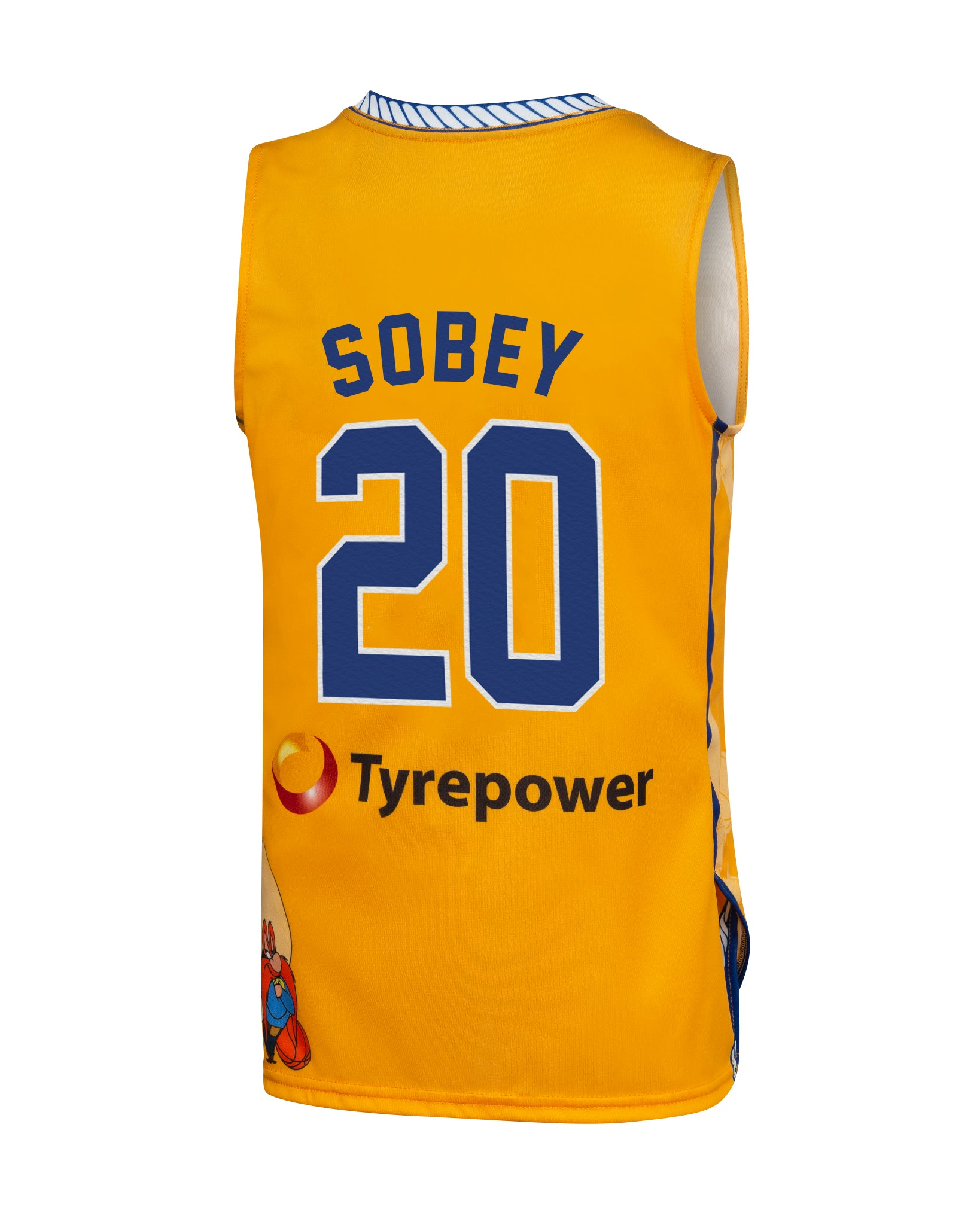Brisbane Bullets 19/20 Youth Looney Tunes Jersey - Nathan Sobey