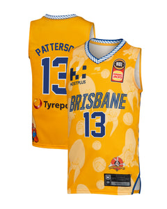Brisbane Bullets 19/20 Youth Looney Tunes Jersey - Lamar Patterson