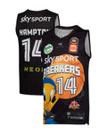 New Zealand Breakers 19/20 Youth Looney Tunes Jersey - RJ Hampton