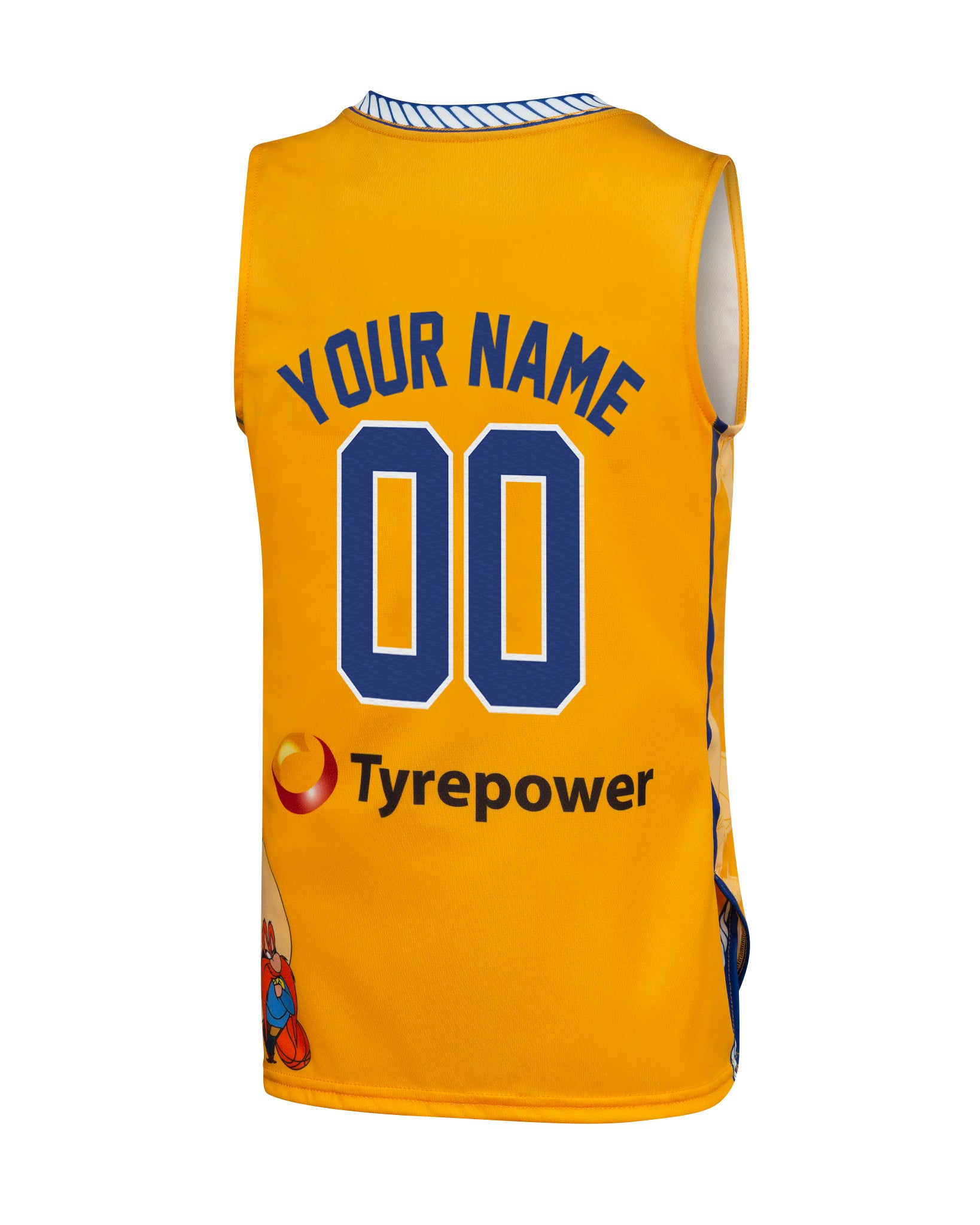 Personalised Brisbane Bullets 19/20 Youth Looney Tunes Jersey