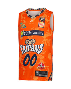 Personalised Cairns Taipans 19/20 Youth Looney Tunes Jersey