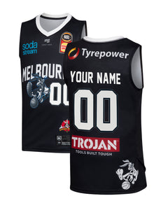 Personalised Melbourne United 19/20 Youth Looney Tunes Jersey
