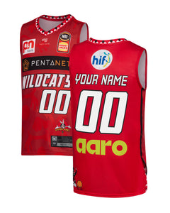 Personalised Perth Wildcats 19/20 Youth Looney Tunes Jersey