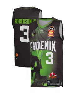 S.E. Melbourne Phoenix 19/20 Youth Looney Tunes Jersey - John Roberson IV