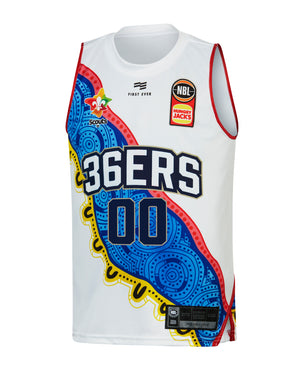 Personalised Adelaide 36ers 19/20 Youth Indigenous Jersey