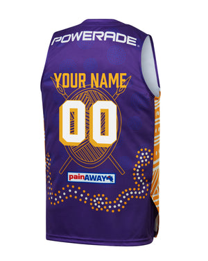 Personalised Sydney Kings 19/20 Youth Indigenous Jersey