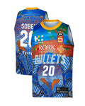 Brisbane Bullets 19/20 Youth Indigenous Jersey - Nathan Sobey