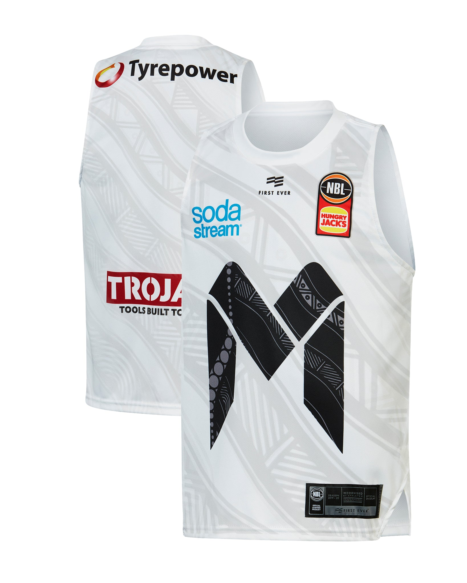 Melbourne United 19/20 Youth Indigenous Jersey
