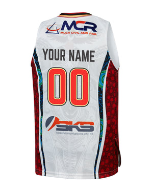 Personalised Illawarra Hawks 19/20 Youth Indigenous Jersey