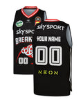 Personalised New Zealand Breakers 19/20 Youth Indigenous Jersey