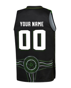 Personalised S.E. Melbourne Phoenix 19/20 Youth Indigenous Jersey