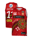 Perth Wildcats 19/20 Youth Indigenous Jersey - Bryce Cotton