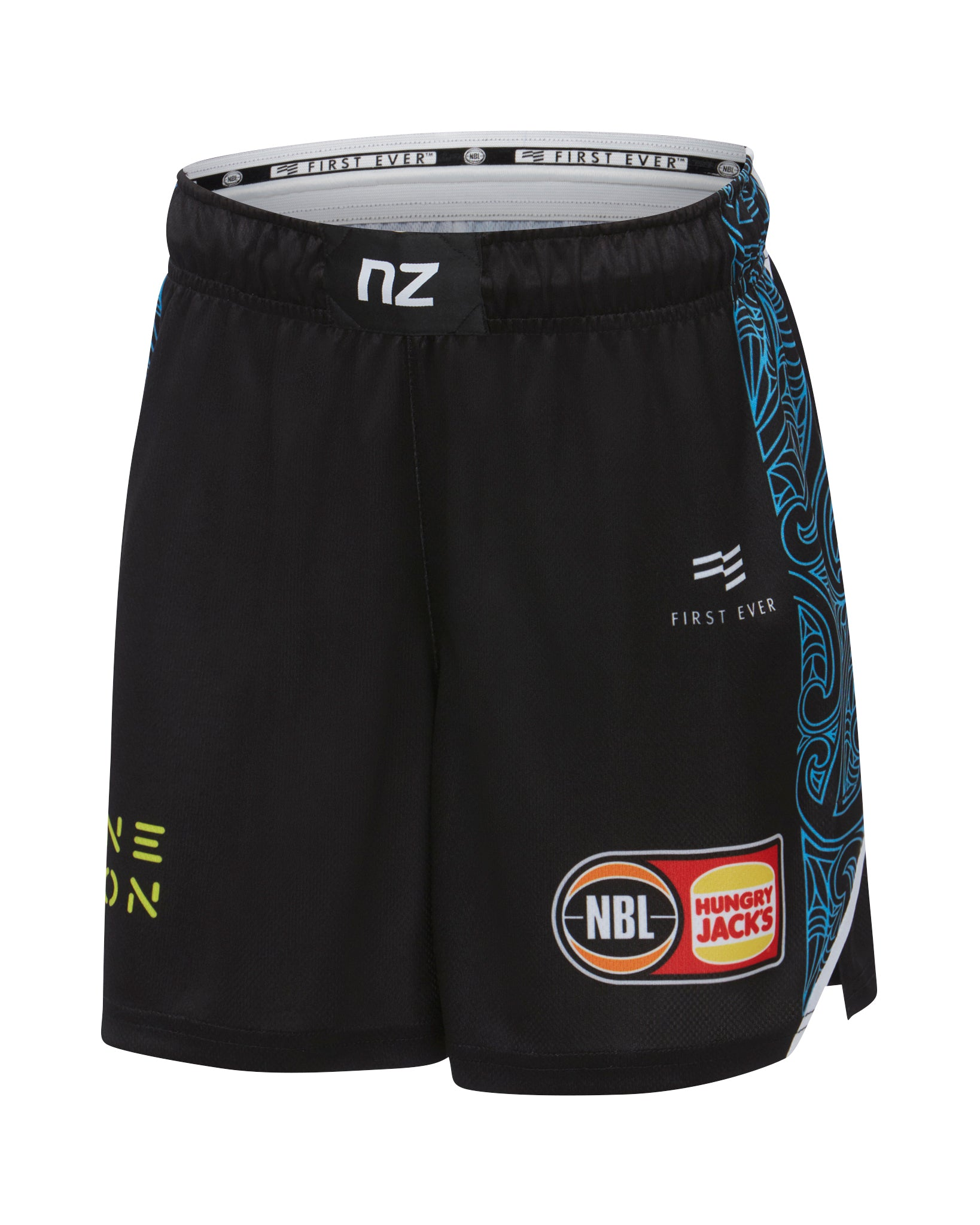 New Zealand Breakers 19/20 Youth On Court Home Shorts